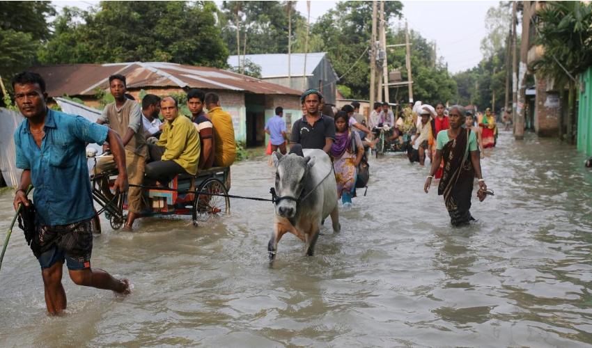 Los migrantes climáticos carecen del estatus de refugiado