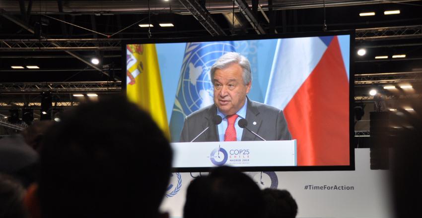 COP25: Necesitamos actuar, estamos en emergencia climática