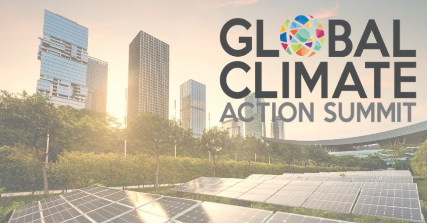 Finalizó la Cumbre Mundial de Acción Climática celebrada en la ciudad de San Francisco entre el 12 y 14 de Septiembre.