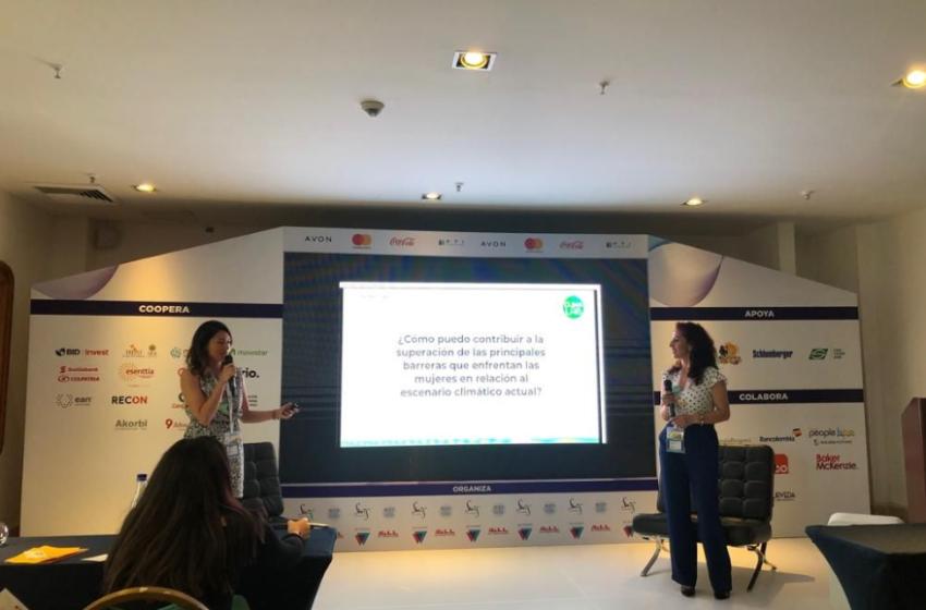 Género y cambio climático: un tema relevante en el primer Women Economic Forum Latinoamérica
