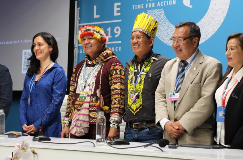 """Indígenas en la COP25: Hay que ir """"más allá de la foto y crear un espacio de igualdad"""""""