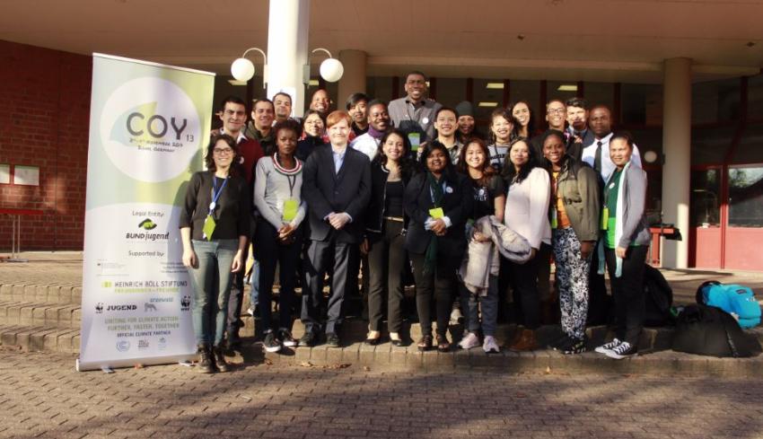 Jóvenes del sur buscan influenciar la COP23