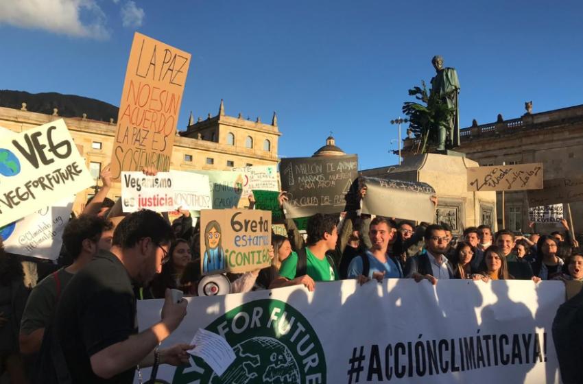 Jóvenes latinoamericanos profundizan la lucha ante la crisis climática