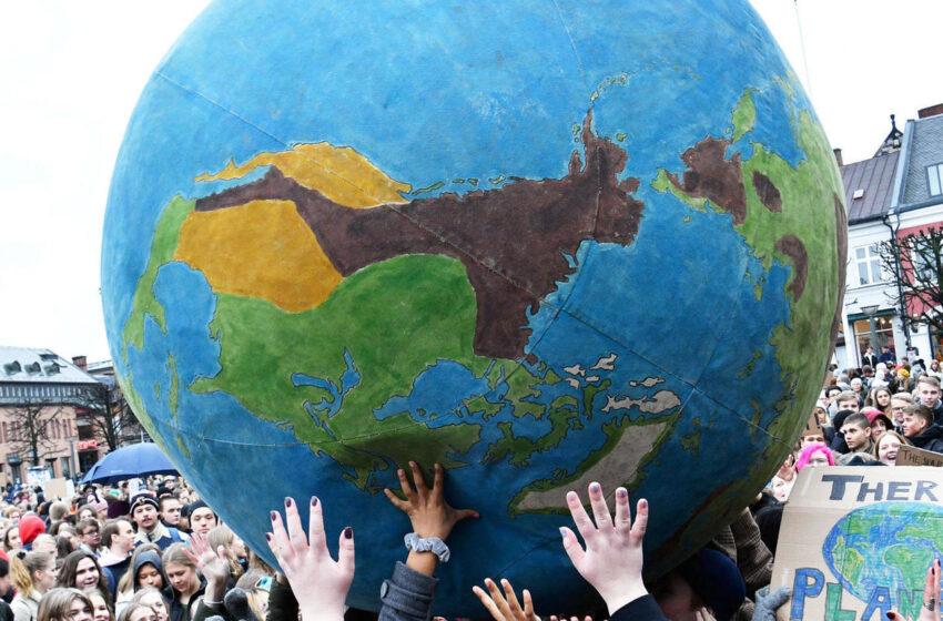 Marcha global del clima: la juventud en la agenda climática.