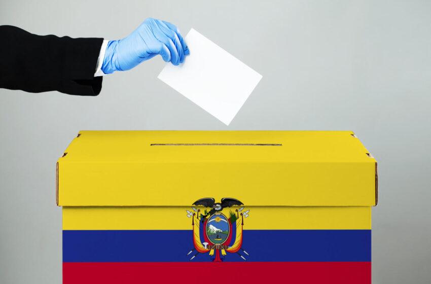 Mapa electoral de Sudamérica